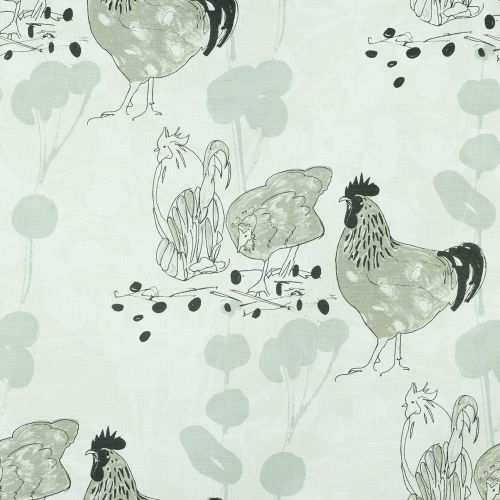 Chickens Fabric