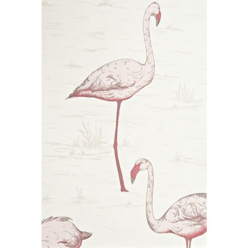 Flamingos restyled Wallpaper