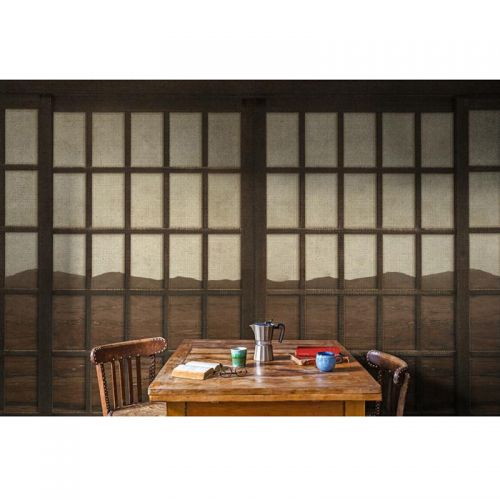 New Japanese Window Wall Panel
