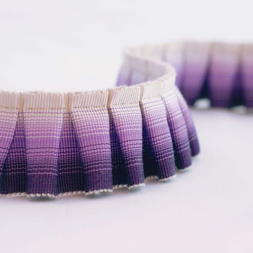 Ombre Pleated Fringe