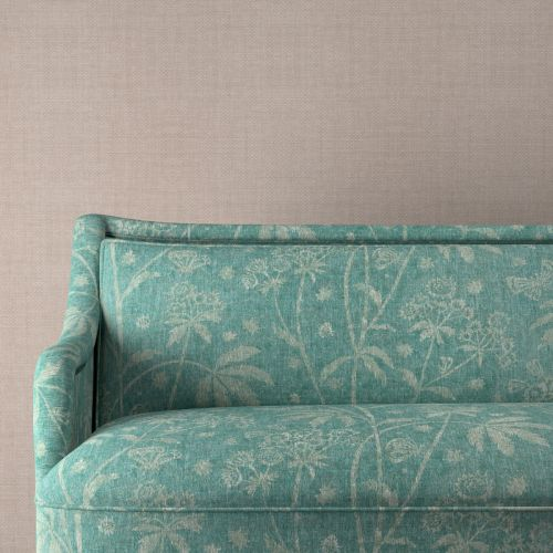 Astrea Turquoise Upholstery Fabric