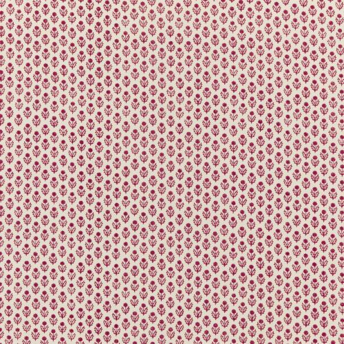 Avila Pink Small Floral Print Cotton Fabric