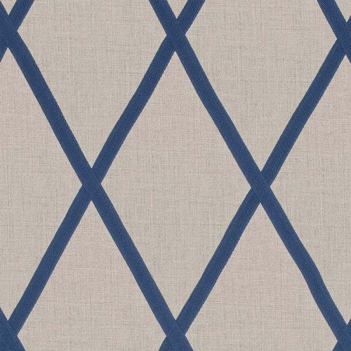 Tarascon Trellis Applique Fabric