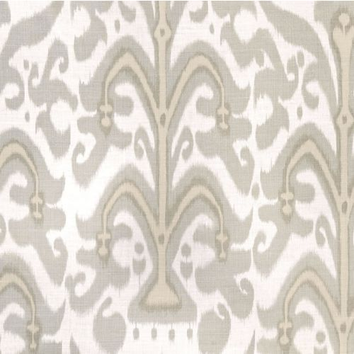 Belfour Linen Fabric Smoke Grey Neutral Ikat