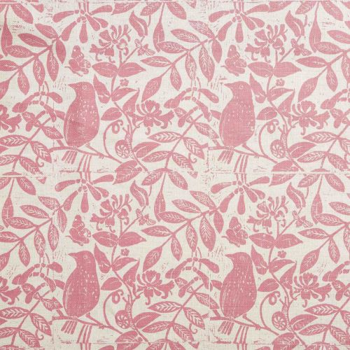Birds and Bees Linen Union Fabric