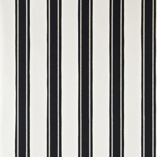Block Print Stripe Wallpaper
