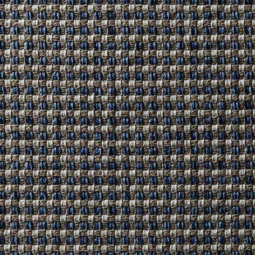 Blue and Taupe Fabric