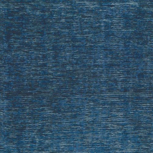 Blue Chenille Upholstery Fabric Charlton