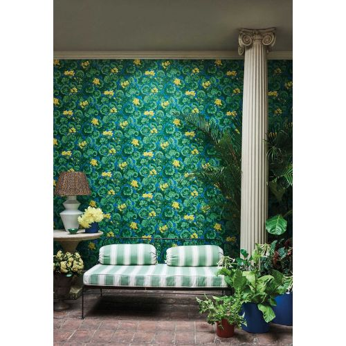 Blue Green Yellow Wallpaper