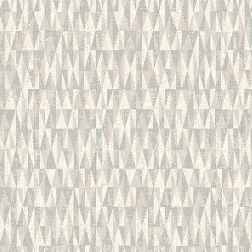 Bosham Wallpaper Autumn Grey Neutral Geometric