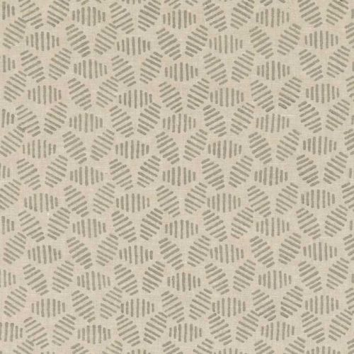 Bumble Bee Linen Fabric Stone