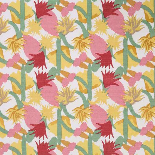 Cactus Flower Indoor Outdoor Fabric