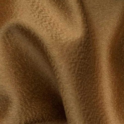 Cashmere Velour Fabric Golden Brown