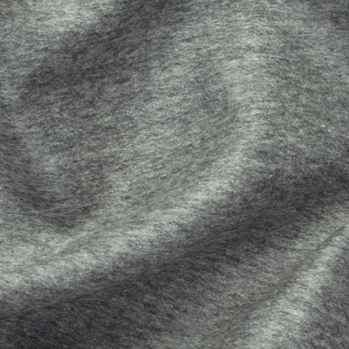 Cashmere Velour Fabric Light Grey