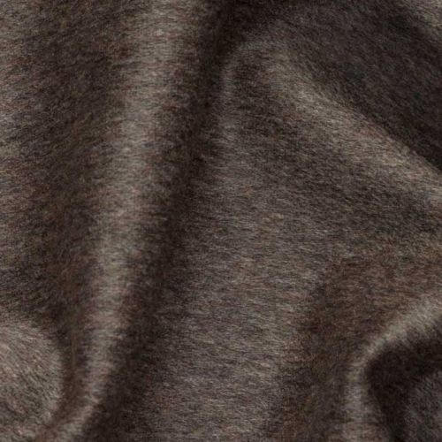 Cashmere Velour Fabric Otter Grey