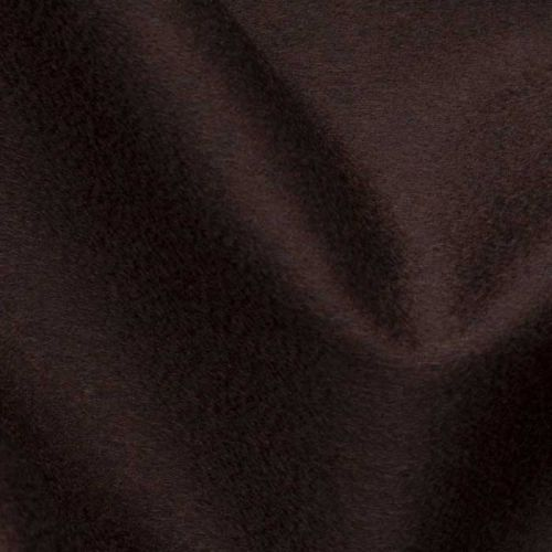 Cashmere Velour Fabric Raisin Brown