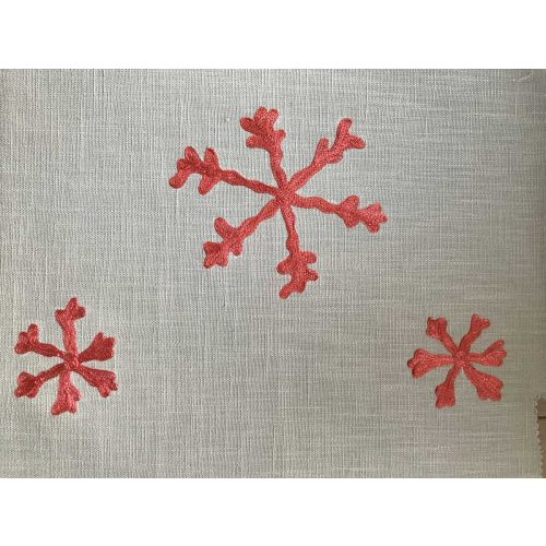 Flurry Embroidered Fabric