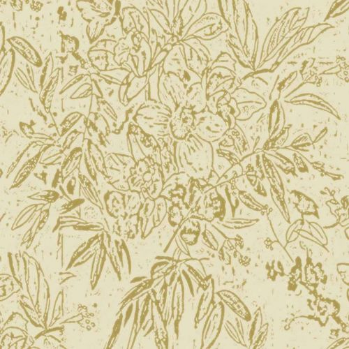 Cherry Orchard Wallpaper Sand Neutral Floral