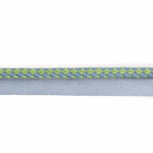 Circus Piping Green Blue Fabric Trim