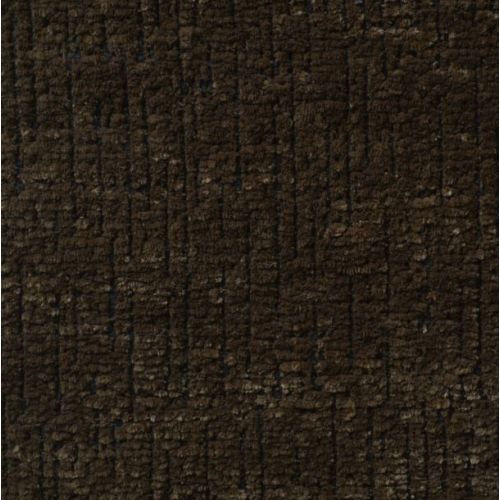 Ultra soft chenille fabric in brown