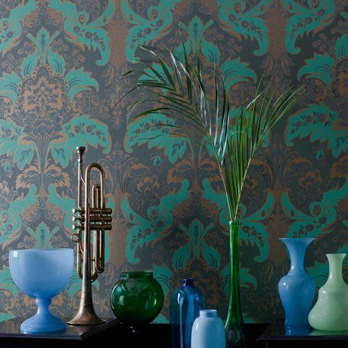 Aldwych Damask Wallpaper