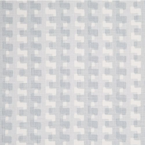 Cremaillere Linen Fabric Soft Blue Grey