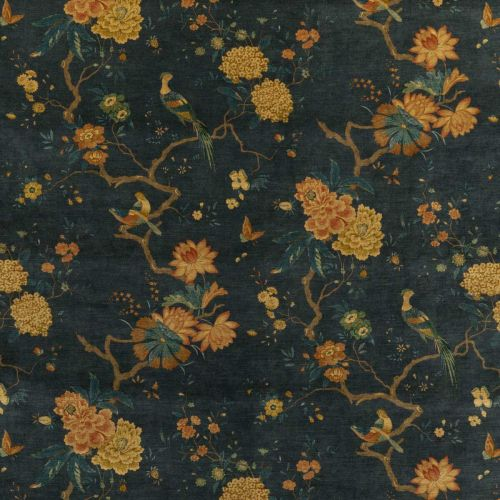 Deep Teal Velvet Fabric