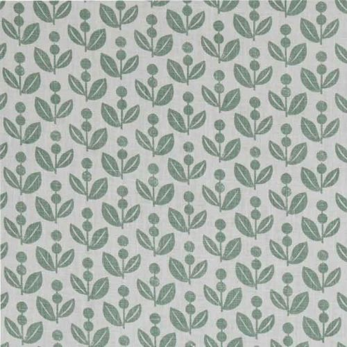 Dolly Linen Fabric Moss green