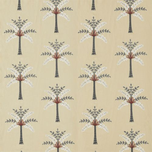 Palm Grove Embroidery Fabric