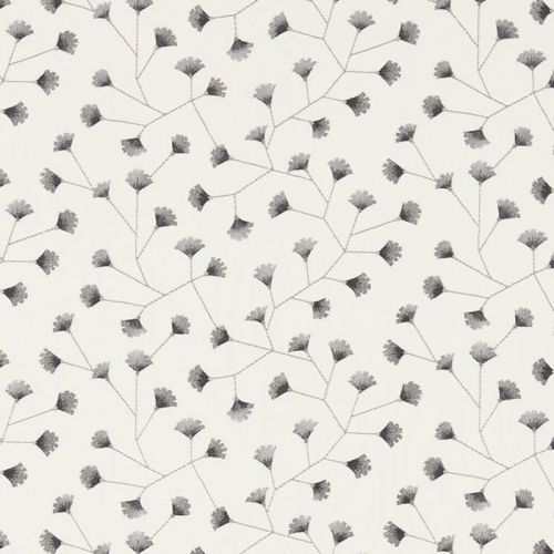 Gingko Trail Embroidered Fabric