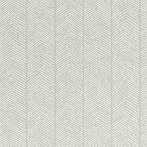 Duck Egg Blue Herringbone Wallpaper