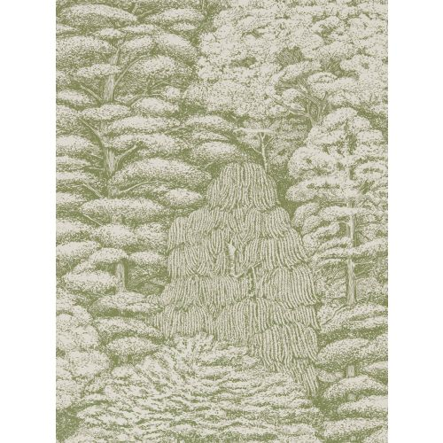 Woodland Toile Wallpaper
