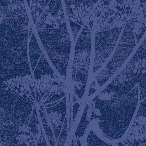 Cow Parsley Velvet Fabric