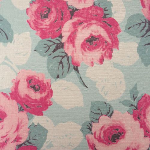 Faded Roses Fabric