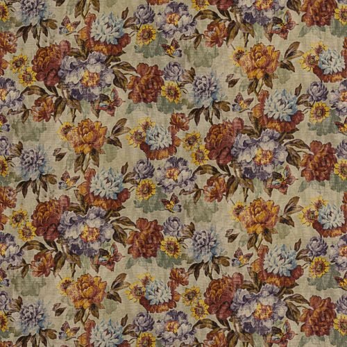 Floral Woven Fabric