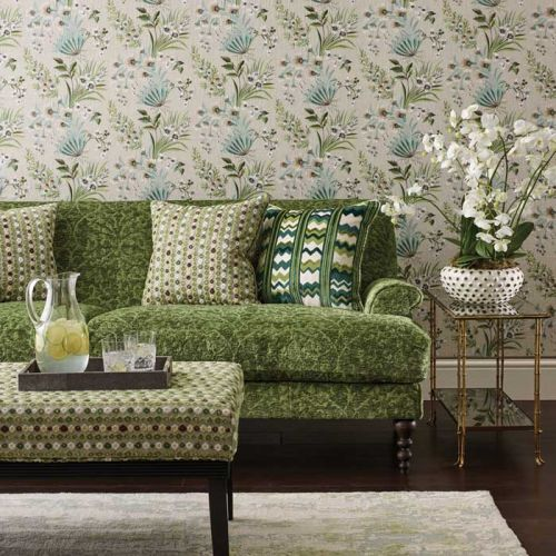 Flyte Fabric Green Marchmain