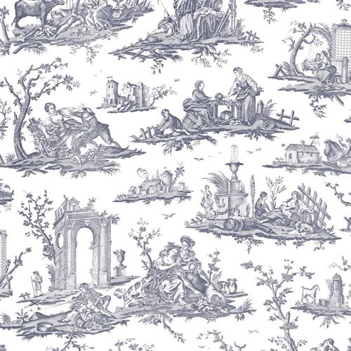 Fragonard Toile Wallpaper