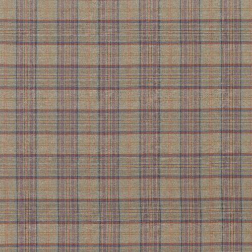 Victoria Plaid Lambswool Fabric