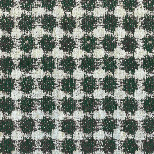 Green and Cream Fabric