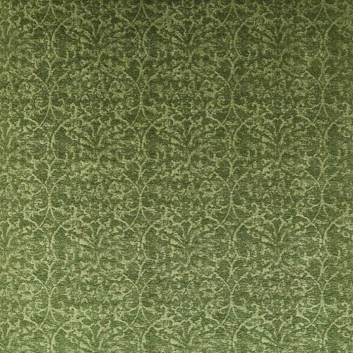 Green Damask Fabric Marchmain