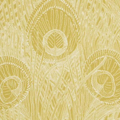 Hebe Linen Fabric Chartreuse