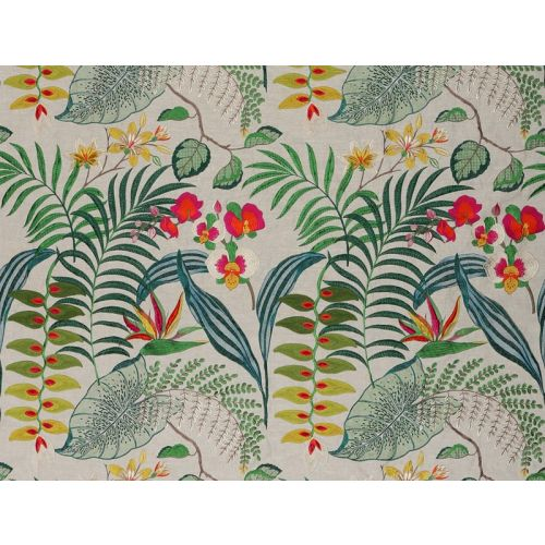 Heliconia Dreamin Embroidery Fabric