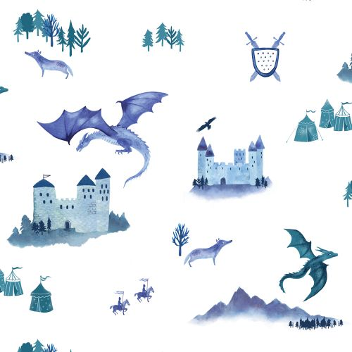 Castles and Dragons Wallpaper