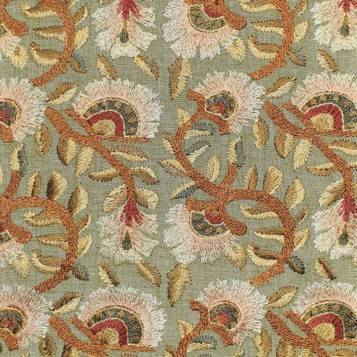 Wardle Embroidery Fabric