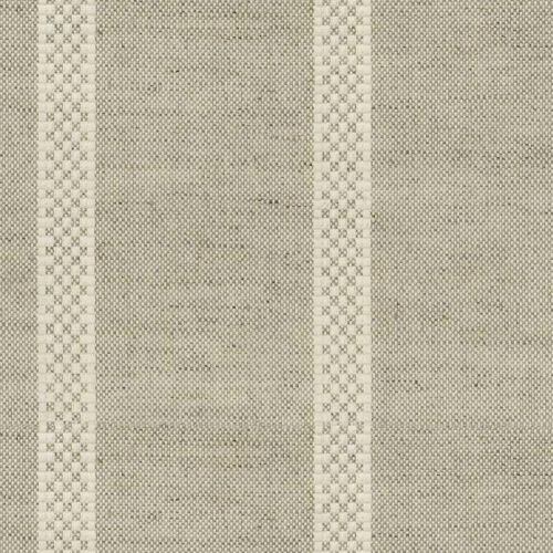 Hopsack Stripe Fabric