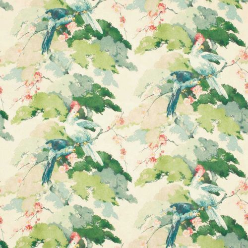 Jungle Jive Linen Fabric