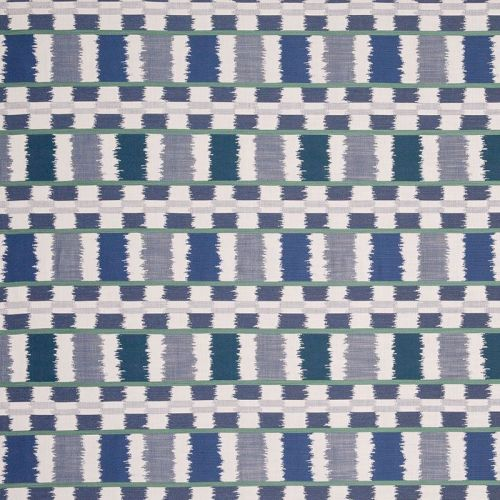 Lapaz Outdoor Fabric Blue Green Performance
