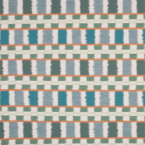 Lapaz Outdoor Fabric Turchese Green Blue