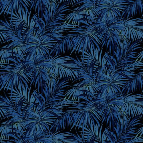 Butterfly Palm Velvet Fabric