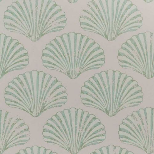 Light Pink and Green Wallpaper